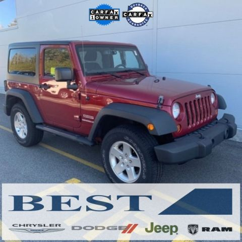 PRE-OWNED 2013 JEEP WRANGLER SPORT 4WD