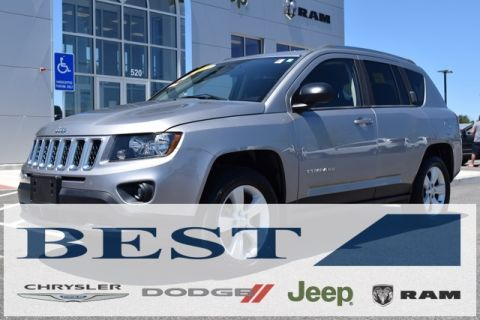 CERTIFIED PRE-OWNED 2015 JEEP COMPASS SPORT 4WD