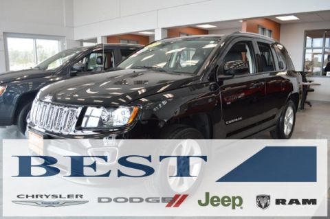 CERTIFIED PRE-OWNED 2015 JEEP COMPASS LATITUDE 4WD