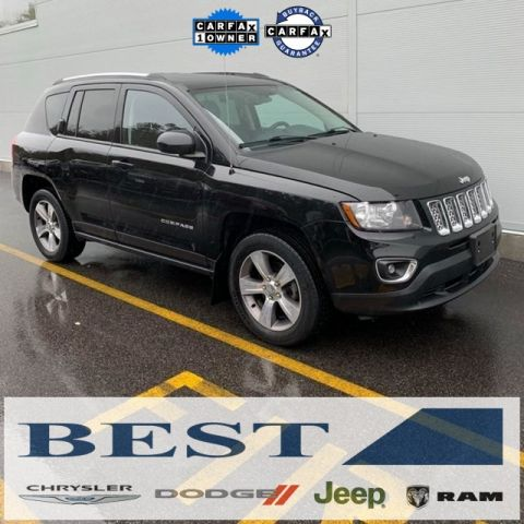 CERTIFIED PRE-OWNED 2016 JEEP COMPASS HIGH ALTITUDE 4WD