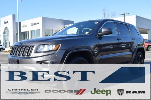 CERTIFIED PRE-OWNED 2015 JEEP GRAND CHEROKEE ALTITUDE 4WD