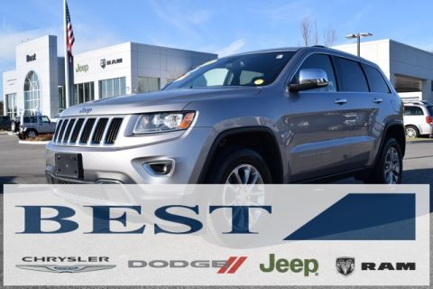 CERTIFIED PRE-OWNED 2016 JEEP GRAND CHEROKEE LIMITED 4WD