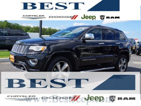 CERTIFIED PRE-OWNED 2015 JEEP GRAND CHEROKEE OVERLAND 4WD