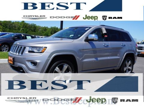 CERTIFIED PRE-OWNED 2014 JEEP GRAND CHEROKEE OVERLAND 4WD