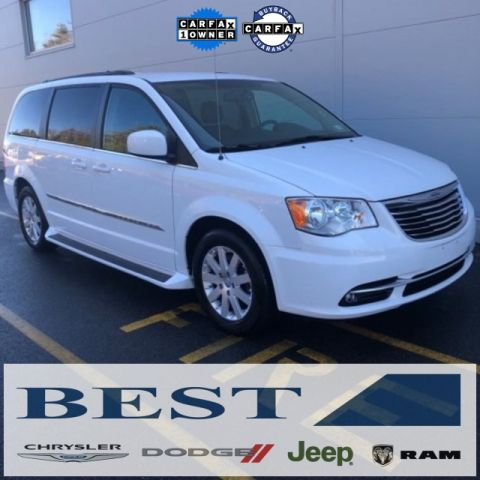CERTIFIED PRE-OWNED 2015 CHRYSLER TOWN & COUNTRY TOURING FWD 4D PASSENGER VAN