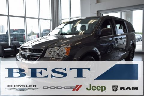 CERTIFIED PRE-OWNED 2016 DODGE GRAND CARAVAN SXT FWD 4D PASSENGER VAN