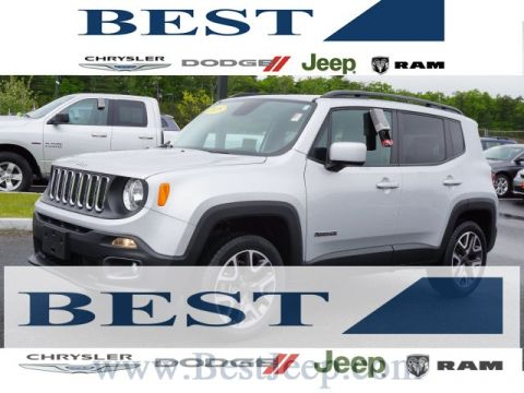 CERTIFIED PRE-OWNED 2015 JEEP RENEGADE LATITUDE 4WD