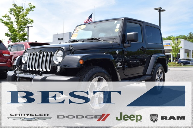 Jeep Certified Pre Owned >> Certified Pre Owned 2016 Jeep Wrangler Sahara 2d Sport Utility In