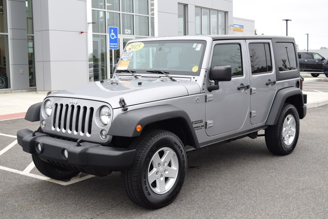 Certified Pre Owned 2015 Jeep Wrangler Unlimited Sport