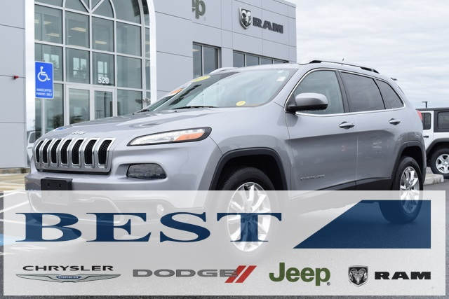Certified Pre Owned 2015 Jeep Cherokee Limited