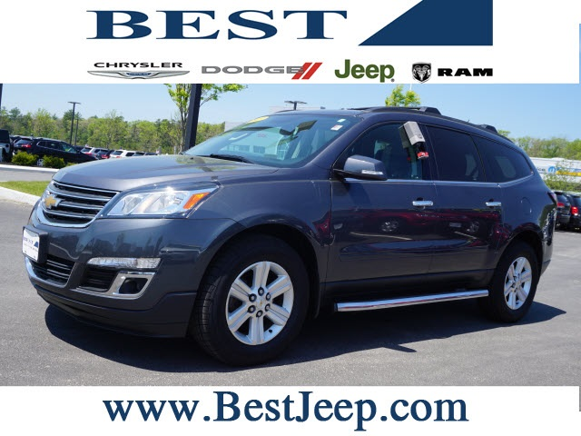 Pre-Owned 2013 Chevrolet Traverse LT Cloth