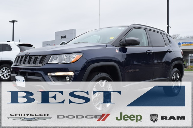 Certified Pre-Owned 2017 Jeep New Compass Trailhawk