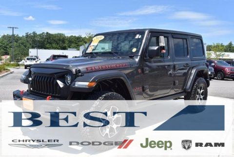 CERTIFIED PRE-OWNED 2019 JEEP WRANGLER UNLIMITED RUBICON 4WD
