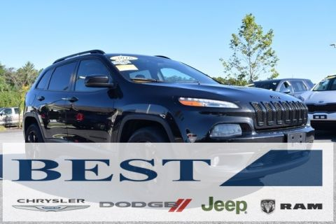CERTIFIED PRE-OWNED 2016 JEEP CHEROKEE HIGH ALTITUDE 4WD
