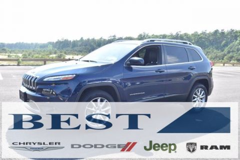 CERTIFIED PRE-OWNED 2018 JEEP CHEROKEE LIMITED 4WD