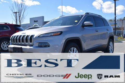 CERTIFIED PRE-OWNED 2018 JEEP CHEROKEE LATITUDE PLUS 4WD