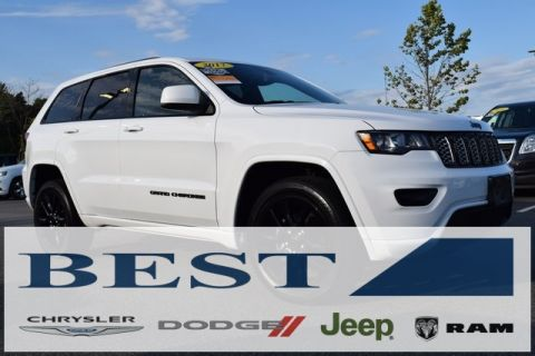 CERTIFIED PRE-OWNED 2017 JEEP GRAND CHEROKEE ALTITUDE 4WD