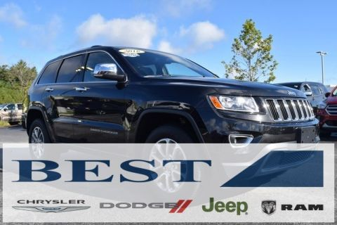 CERTIFIED PRE-OWNED 2016 JEEP GRAND CHEROKEE LIMITED WITH NAVIGATION & 4WD