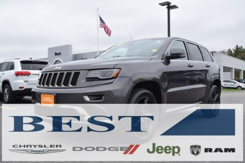 CERTIFIED PRE-OWNED 2015 JEEP GRAND CHEROKEE HIGH ALTITUDE 4WD