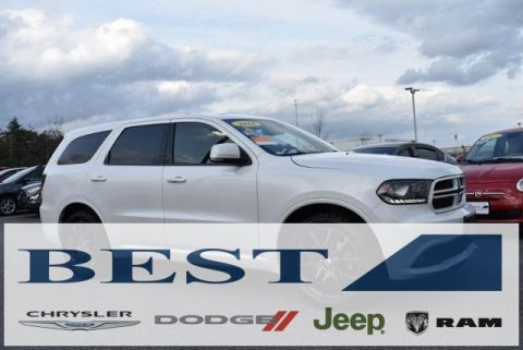 CERTIFIED PRE-OWNED 2016 DODGE DURANGO R/T WITH NAVIGATION & AWD