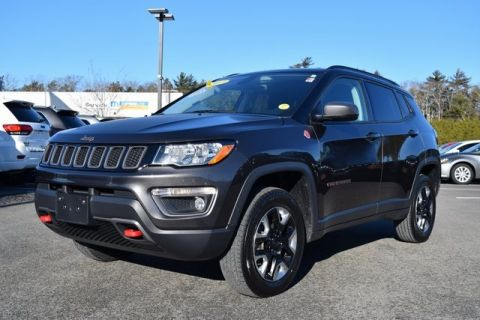 CERTIFIED PRE-OWNED 2017 JEEP NEW COMPASS TRAILHAWK 4WD